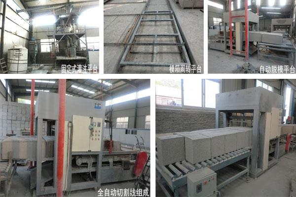 水泥发泡保温板设备生产线